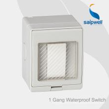 Saipwell Haute Qualité étanche 13A 250V sortie de montage en surface avec approbation de la CE