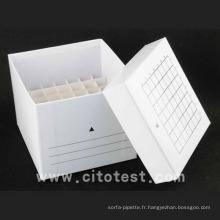 Boîte de rangement en papier