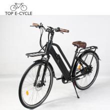 Livelytrip Vélo Électrique Vintage Style Ville Électrique Vélo E Vélo 700C 48 V Vélo Électrique Pour Les Femmes Fabriquées En Chine