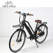 Livelytrip Electric Bike Vintage Style City Electric Bicycle E Bike 700C 48V Electric Bike For Women Made In China