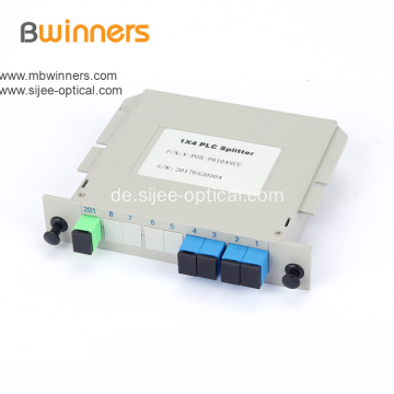 1X4 SC / APC Single-Mode-Einsteck-SPS-Splitter