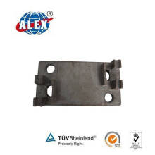 Plain Oiled Sole Plate Provided by Railway Parts Supplier