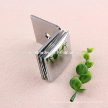 high quality brass /stainless steel material bathroom clamp/glass door clamp
