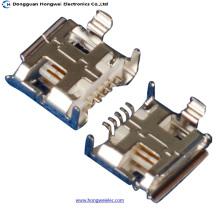 Weiblich 5 Pin B Typ Lötmittel Micro USB Stecker