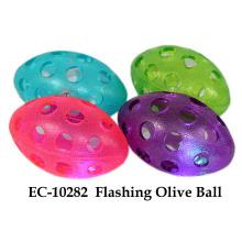 Flashing Olive Ball Toy