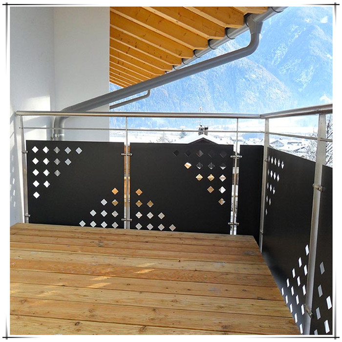 Laser Cutting Balcony Panel