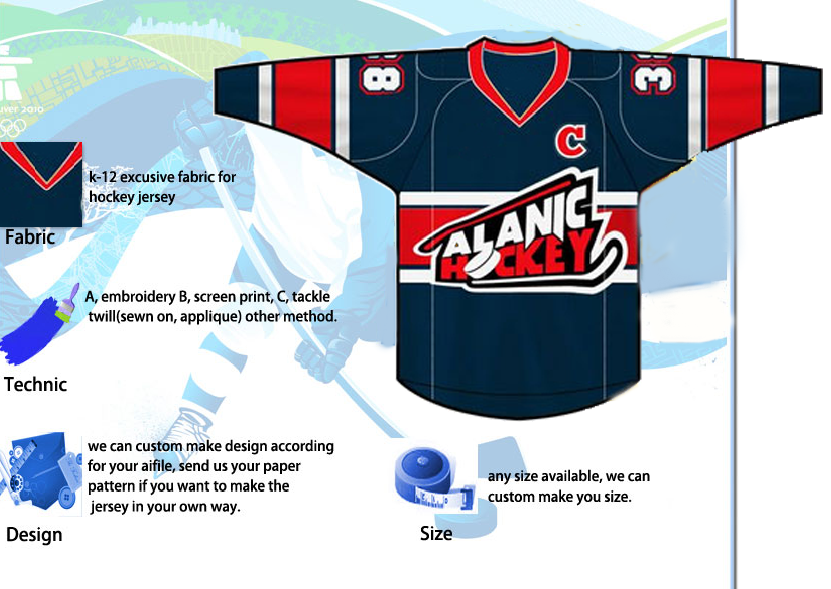 Team Hockey Jerseys