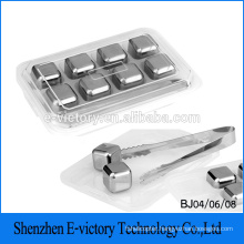 Cool's Beer Instantly Stainless Steel Ice Cubes For Wine Artificial Ice Cubes Wholesale Whiskey Stones With Clib
