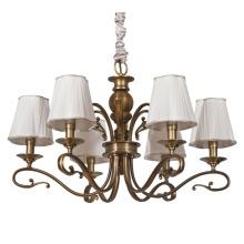 Hierro lámpara colgante lámpara luz con sombra de tela (SL2152-6)