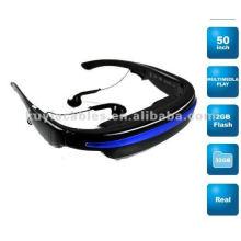 """Brand New Lecteur multimédia à écran plat 52 """"Portable Video Glasses Virtual Theater 4GB"""