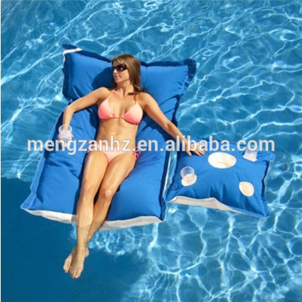 High Quality Outdoor Floating Bean Bag Swimming 2