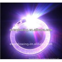 Venda quente do bracelete do arco-íris do diodo emissor de luz 2017