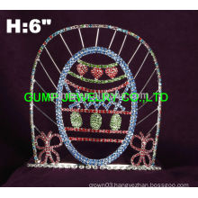 Egg design Easter pageant tiara
