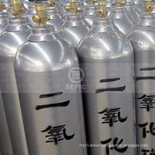 weight of Asia carbon dioxide CO2 gas cylinder fire extinguisher