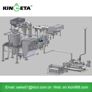 Forestry residues electric power generator biomass gasifier