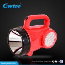 Wiederaufladbare Fernbedienung leistungsstarke LED-Suchscheinwerfer mit Seitenlicht