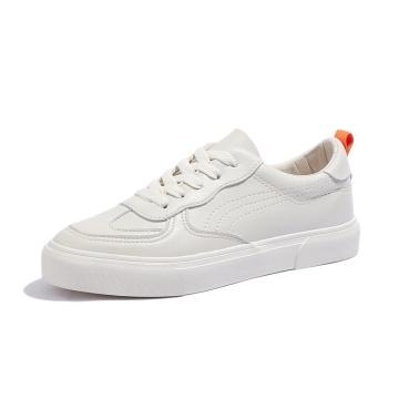 2021 white causal flat bottom lightweight women shoes