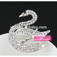 El más nuevo diseño de la moda de ganso de cristal broche