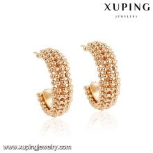94475 conception créative bijoux cerceau boucle d'oreille en alliage de cuivre matériel pour la fabrication