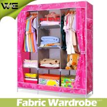 Bedroom Furniture Cheap Folding Fabric Closet Bedroom Wardrobe