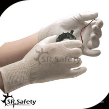 SRSAFETY 13G PU Coated esd palm fit gloves