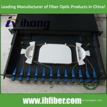 19 pulgadas deslizable 1U montado en bastidor ODF SC 12Port