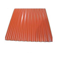 Galvaniserad Corrugated Roofing Steel Sheet