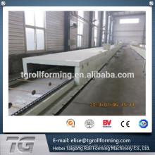 Новая технология Color Stone Coated Roofing Tile 1335 * 420 * 0.4mm машина для изготовления