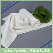 2014 nuevo paño de limpieza de alta calidad del algodón de la microfibra los 30cm los x 30cm