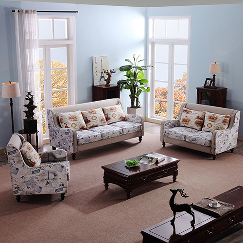 Fabric 321 Sofas Sets