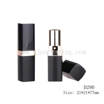 D290 Cuadrado negro con los envases vacíos del bálsamo labial del vacío al por mayor