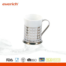 Hochwertige niedrige Preisreise-keramische Kaffeetasse