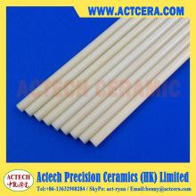 Валы и заказной 99% Al2O3/99.5% высокой чистоты глинозем керамический стержень