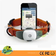 Водонепроницаемый мини-GPS датчики слежения за собаками GPS слежения с карте Google