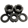 Densidad 1.9g / cm3 Anillo de grafito de carbono personalizado para pistón