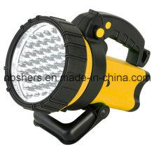 Lámpara de advertencia portátil del proyector de 37PCS LED