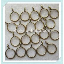 Alta qualidade metal cortina pólo anéis - 35 milímetros - aço escovado