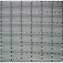 Engranzamento de fio frisado / aço inoxidável / Pvccoated