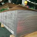 Placa de acero inoxidable con acabado 2b
