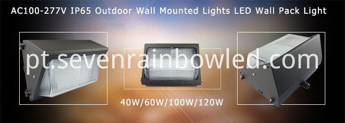 40W led wall pack IP65