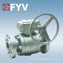 ASTM Forged Steel Trunnion Mounted Ball Valve
