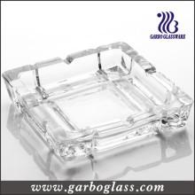 Cendrier verre en verre carré