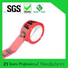 Alta qualidade logotipo personalizado impresso fita de embalagem