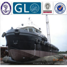 Exportação indonésia ship repair airbag for shipyard
