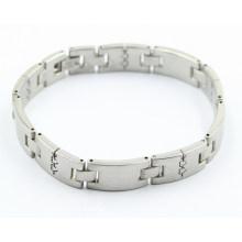 Bracelet de mode santé en acier inoxydable à chaud