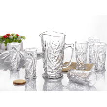7PCS Engraved Water Glass Drinking Set (GB12038)
