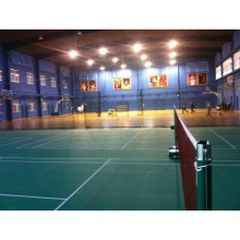 Bwf Certificate High Quality PVC Sports Flooring Used to Badminton Court 4.5mm/5mm Thickness