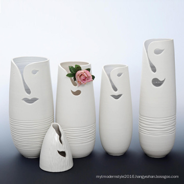 B109 Creative Design Porcelain Flower Decoration Vase for Hotel