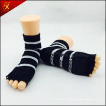 Calcetines de Yoga antideslizante puntera abierta