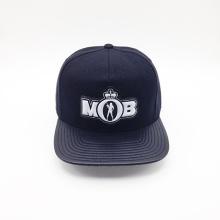 PU Brim Printing Under Visor PVC Embossed Logo Hip-Hop Cap (ACEW120)